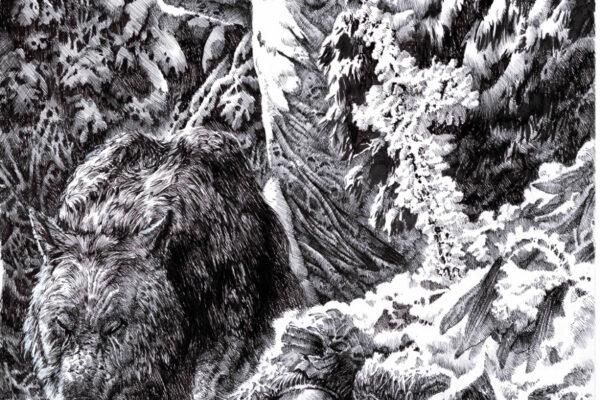 grieving werewolf